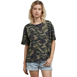 Volcom Throw Shade Tee - Women's Dark Camo