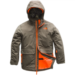 The North Face Boy's Freedom Insulated Jacket - Kid's New Taupe Green
