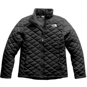 The North Face Girl's ThermoBall Full Zip Jacket - Kid's Tnf Black Lg