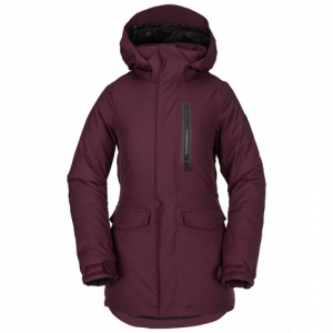 Volcom Shelter 3D Stretch Jacket - Women's Merlot Xs