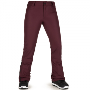 Volcom Battle Stretch Pants - Women's Merlot S