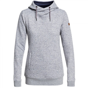 Roxy Dipsy Technical Hoodie - Women's Warm Heather Grey Lg