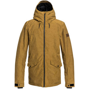 Quiksilver Drift Snow Jacket - Men's Golden Brown Xl
