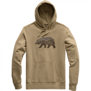 The North Face Bearscape Pullover Hoodie - Men's Kelp Tan M