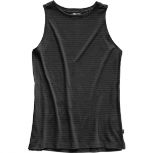 The North Face Emerine Tank Top - Women's Tnf Black Desert Stripe M