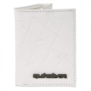 Quiksilver The Chase Wallet Wht Os