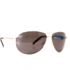 Dot Dash Buford T Sunglasses Gold/grey Each