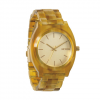 Nixon Time Teller Acetate Watch Light Gold/amber Os