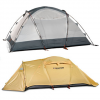 Easton Expedition 2 Person Aluminum Poled Tent Yellow/grey One Size