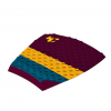 Creatures of Leisure Split Traction Pad Maroon Gold Os