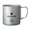 Snow Peak Titanium Double-Wall Cup - 600ml Titanium 600ml