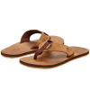 Reef Leather Smoothy Sandals  Bronze Brown 9.0