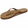 Rainbow Premier Leather Single Layer Narrow Strap Sandal - Women's