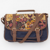 Obey Dahlia Messenger Bag Vintage Paisley One Size