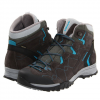 Lowa Focus GTX QC Hiking Boot - Womens Anthracite/turquoise 6.0