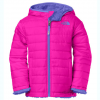 The North Face Girls Reversible Mossbud Jacket - Kids Surf Green 2t