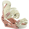 Burton Lexa Snowboard Bindings - Womens Snow Leopard Md