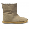Toms Youth Nepal Boots Sand Faux Suede 4.5