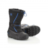 Sorel Youth Flurry TP Boot - Childrens Black/bright Blue 9
