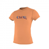 O'Neill Skins S/S Rash Tee - Women's Light Aqua Lg