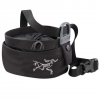 Arc'teryx Aperture Chalk Bag - Large Black Lg
