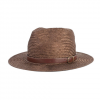 Brixton Leighton Fedora Black/brown Sm