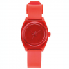 Nixon Small TIme Teller P Watch - Women's Translucent Coral Os