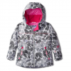 Obermeyer Aurora Jacket White Snowflower 4