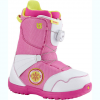Burton Zipline Boa Boots - Boy's White/gray/pink 7