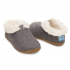 Toms Tiny Slippers Black Wool 11