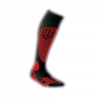 CEP Compression Progressive+ Race Ski Socks Red V