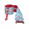 G3 Alpinist Skins 140mm/red Blue Xshort