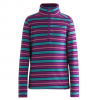 Orage Mic Mac Baselayer Shirt - Kids Violet Mic Mac Stripe 16/xxl