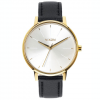 Nixon Kensington Leather Watch - Women's Gold / Saddle Ea