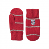 Hestra Striped Wool Mitt Junior Grey/off White 5