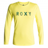 Roxy Palms Away L/S Rashguard Gen0 - Limeade Lg
