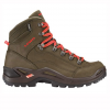 Lowa Renegade Pro GTX Mid Hiking Boots Brown/red 14.0
