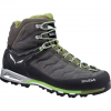 Salewa Mountain Trainer GTX Mid Hiking Boots - Mens Brown/yellow 9.0