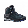 Salewa Mountain Trainer Mid Gore-Tex Boots - Women's Carbon/river Blue