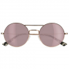 D'Blanc The End Sunglasses Beach Riot Gold/rose Gold