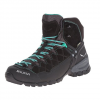 Salewa Alp Trainer Mid GTX Hiking Boot - Women's Black Out/agata 11.0