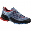 Salewa Firetail GTX Womens  Blue Jeans/poppy Red 8.5