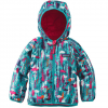 Patagonia Baby Reversible Puff-Ball Jacket Pine Friends/epic Blue 2t