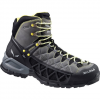 Salewa Alp Flow Mid GTX - Mens Smoke/yellow 11.5