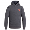 Quiksilver Trail Youth Fleece Hoody - Kids Kzm0 - Iron Gate Xl/16