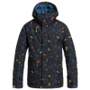 Quiksilver Boys Mission Print Jacket - Kids Kvj1 - Ghetto Island M/12