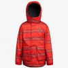 Orage Boys Dennis Jacket - Kids Fire Red Stripe 10/medium
