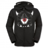 Volcom Boys Prey Fleece Hoodie Jacket - Kids Black Xl