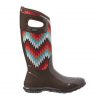 Bogs North Hampton Native Tall Boots - Women's Choc Multi 6.0