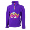 Obermeyer Ric-Rac Fleece Top - Kid's Iris Purple Sm